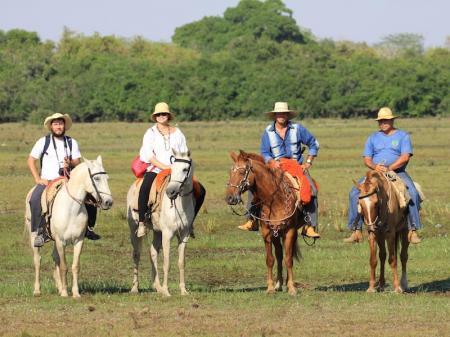 Reitausflug im Pantanal