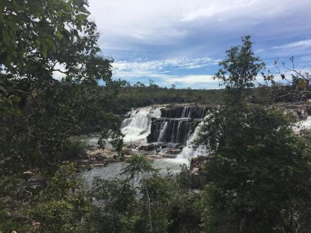 Wasserfall Segredo in der Chapada dos Veadeiros