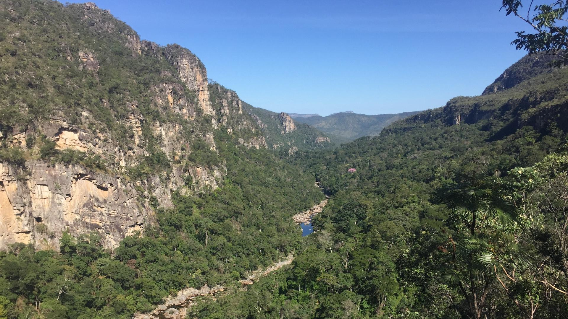 Ausblick ins Grüne 5 Tage Mietwagenreise Chapada dos Veadeiros