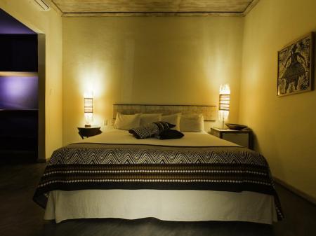 Das elegante Superior Doppelzimmer im Bahiacafe Hotel