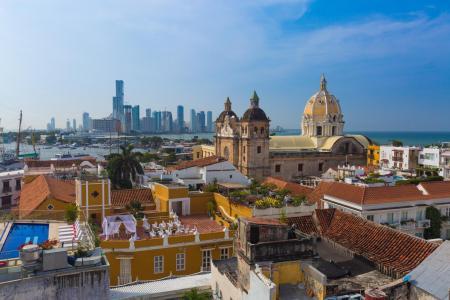 Erleben Sie die Karibikstadt Cartagena von ihrer schönsten Seite auf einer Stadtführung durch das koloniale Zentrum
