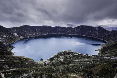 Erleben Sie die Quilotoa Lagune auf Ihrer Reise nach Ecuador