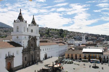 Begeben Sie sich auf eine spannende Stadtbesichtigung durch Quito in Ecuador