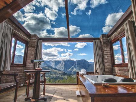 Landestypische Unterkunft Morada dos Canyons Suite mit Panorama