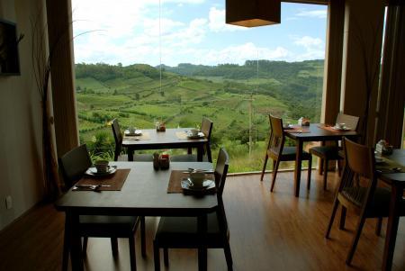 Cafe der landestypischen Unterkunft Pousada Borghetto Sant Anna