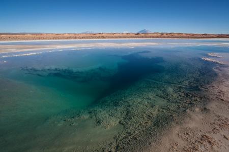 Reisen Sie nach Argentinien und entdecken Sie die Ojos del Mar in der Puna Wüste