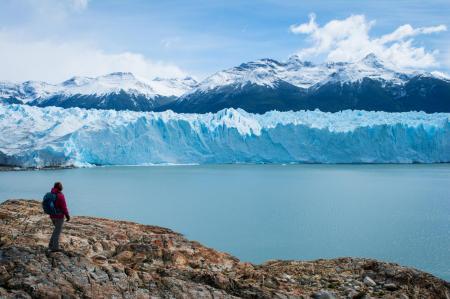 Besichtigen Sie den Pinon Gletscher im Cerro Castillo Nationalpark in Argentinien