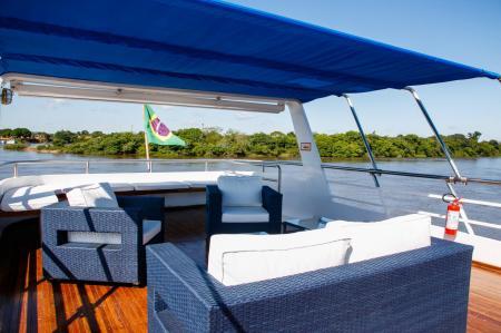 Gemütliche Sitzecke auf der Minas do Pantanal