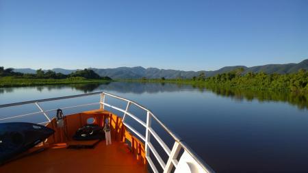 Blick von der Minas do Pantanal aufs Wasser