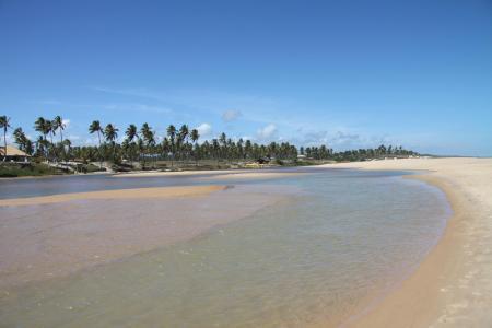 Stranderholung in Imbassai am Ende der 15 Tage Rundreise