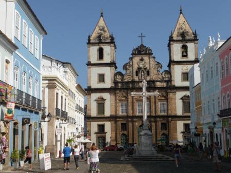 Eine Kirche in Salvador: 15 Tage Rundreise