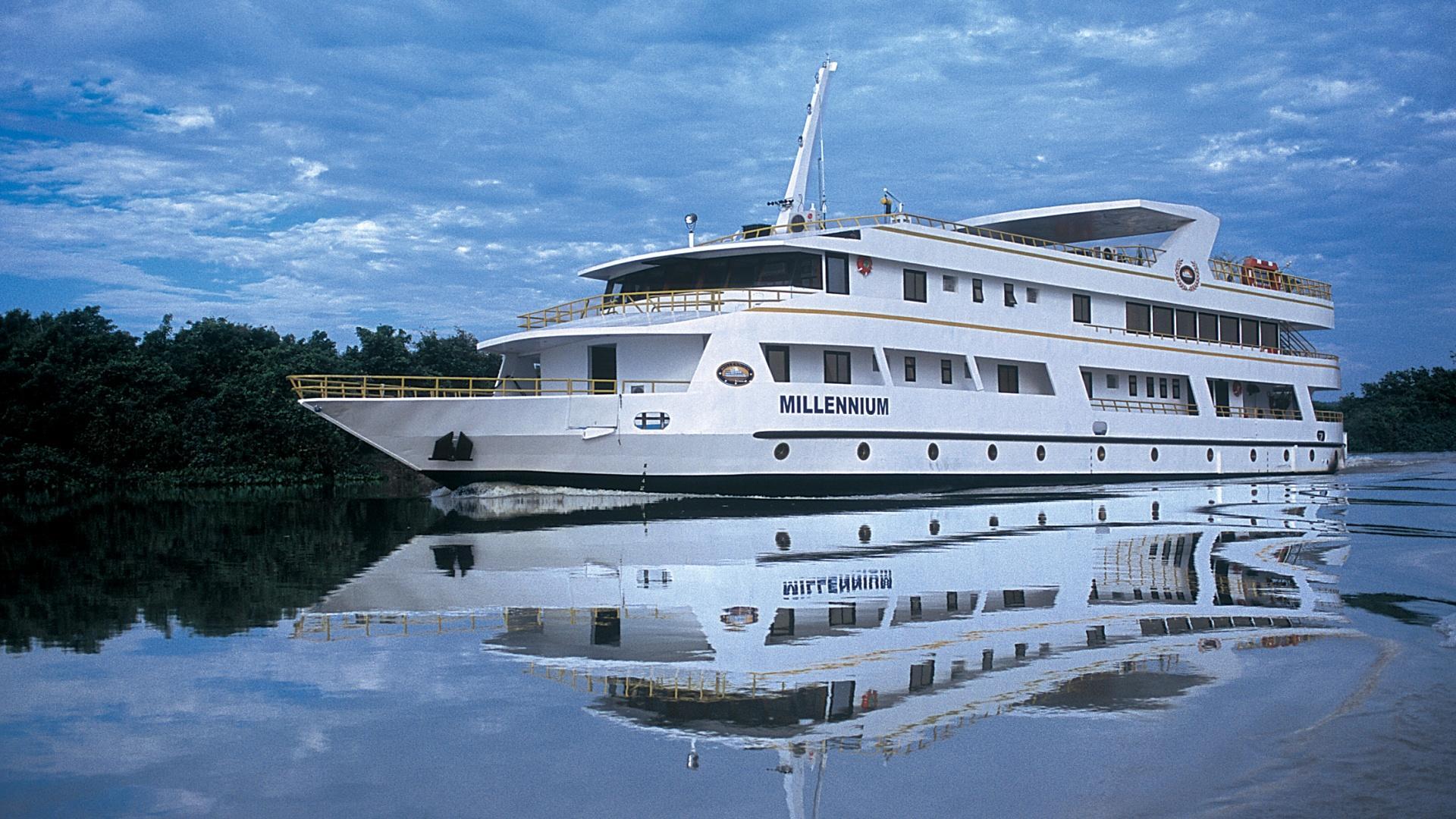 2 bis 6 Tage Baustein Jaguar Safari auf der Yacht Millennium, Bild der Yacht