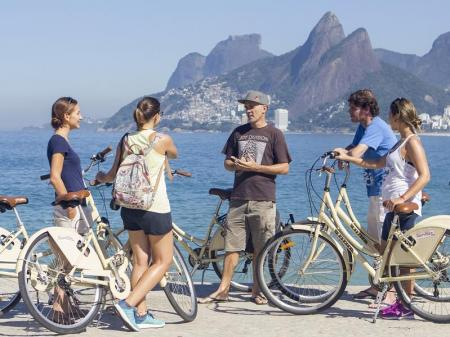 Entlang der Strände von Rio de Janeiro