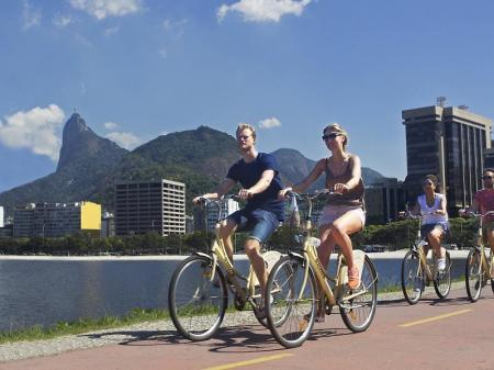 Rio de Janeiro per Bike entdecken