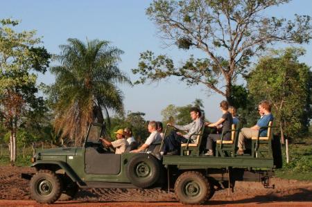 Jeep-Safari der Pousada Aguapé