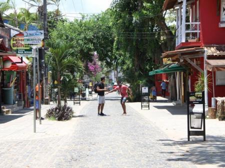 Fussgängerzone von Itacaré