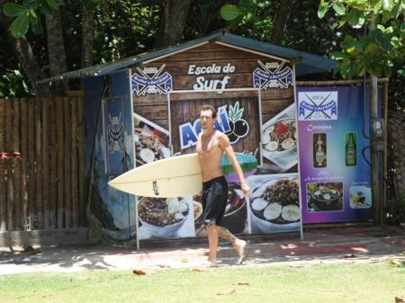 Surfer in Itacaré