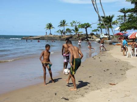 Strandleben in Itacaré