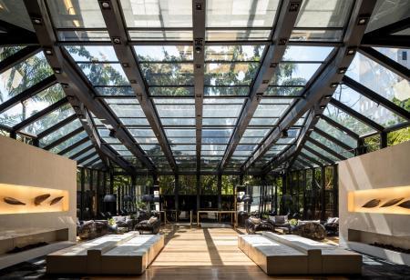 Lobby Deluxe Hotel Tivoli Mofarrej Sao Paulo