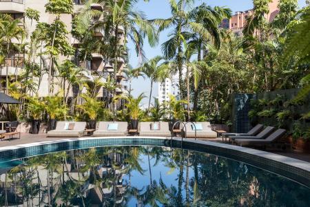 Pool Deluxe Hotel Tivoli Mofarrej Sao Paulo