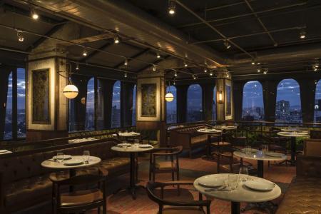 Restaurant Deluxe Hotel Tivoli Mofarrej Sao Paulo
