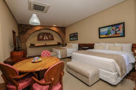 Deluxe Hotel Atrium Quinta das Pedras: Suite Presidencial