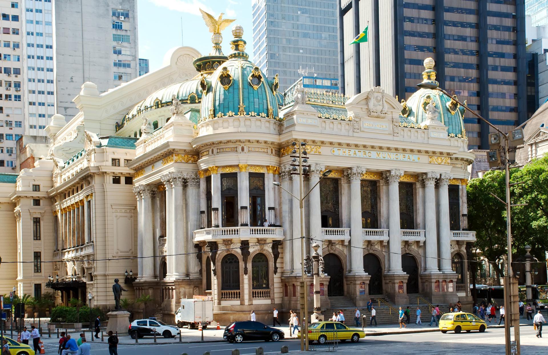 Theater in der Altstadt Rio de Janeiros