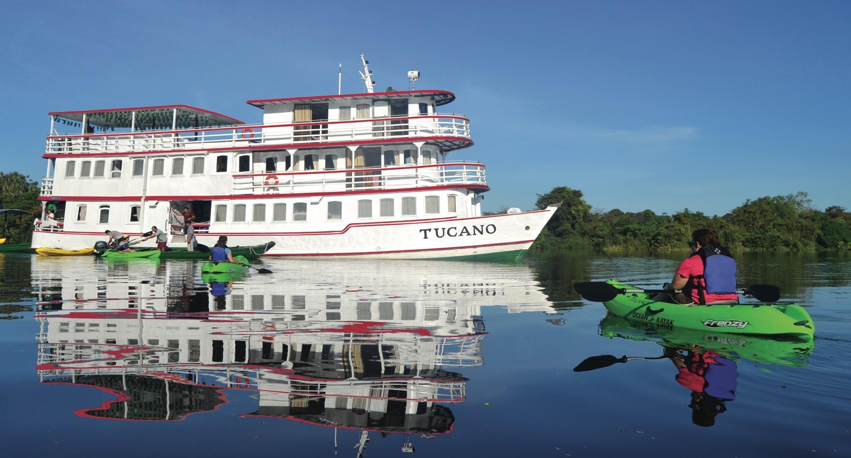 5 bis 7 Tage Schiffsexpedition mit der Motoryacht Tucano