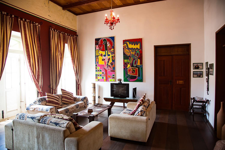 Kunst und Kronleuchter Pousada Casa Lavinia