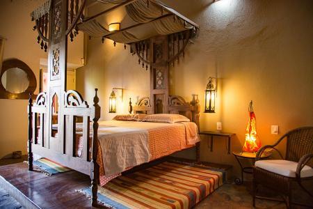 Orientalisch dekoriertes Zimmer Pousada Casa Lavinia