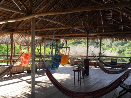 Relaxbereich Tariri Amazon Lodge