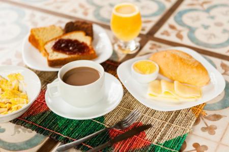 Frühstück Pousada Jurara