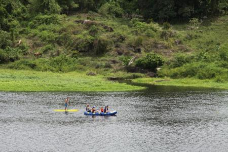 Rafting und Stand-Up Paddling in Taboquinhas