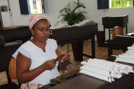 Zigarrenherstellung in Sao Felix/Cachoeira