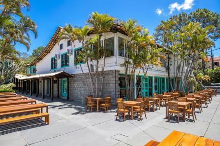 Restaurant Standard Hotel Selina Floripa mit Outdoorbereich