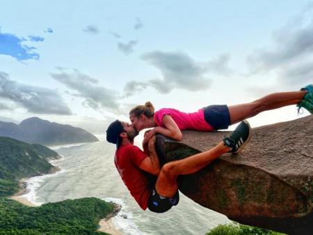 Fotomotiv Pedra do Telegrafo bei Rio