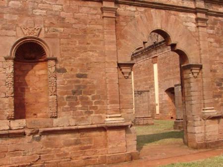 Tor der jesuitischen Mission
