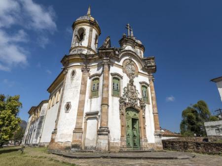 Kirche in Ouro Preto