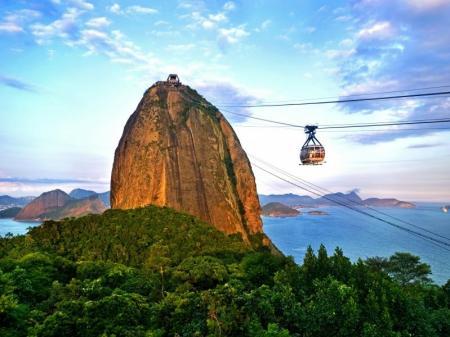 Der berühmte Zuckerhut in Rio de Janeiro