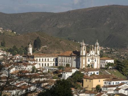 Wunderschönes Kolonialstädtchen Ouro Preto