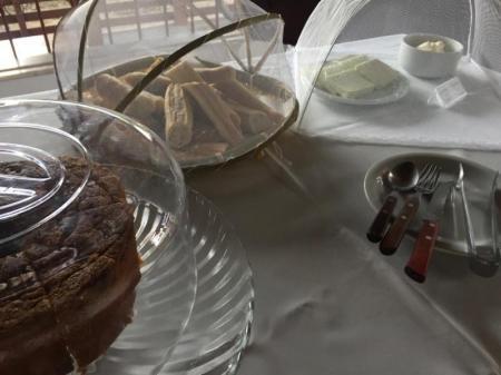 Frühstück Pousada do Frances Ilha do Marajo