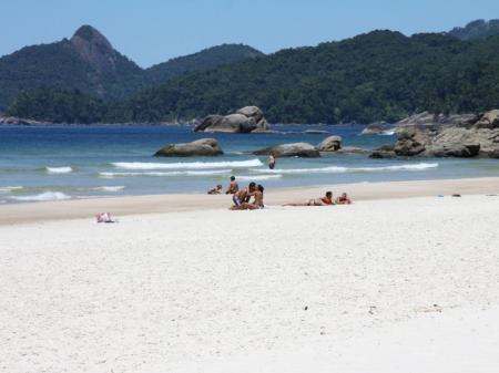 Strand der Ilha Grande