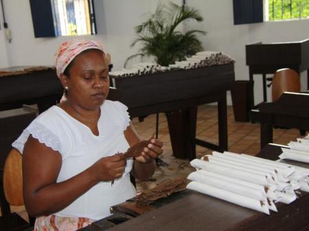 Zigarrenmanufaktur Dannemann in Sao Felix