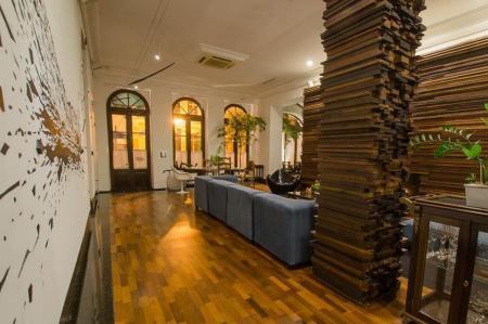 Rezeption des Hotel San Juan Johnscher in Curitiba