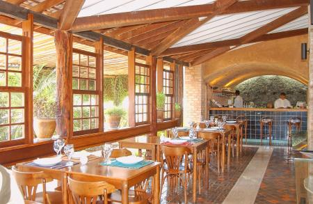 Das hoteleigene Restaurante im Hotel Cantos das Aguas