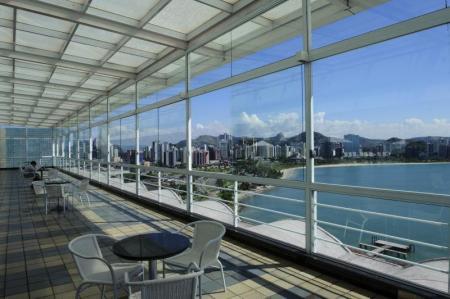 Aussicht Hotel Senac Ilha do Boi