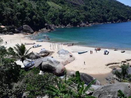Ausblick auf den Praia da Ponta Negra