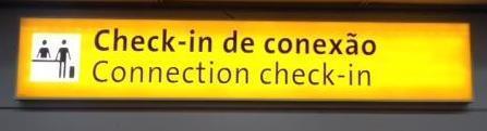 Hinweisschild für Umsteigeverbindungen